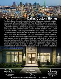 frisco luxury homes where we build ron davis custom homes luxury homes in dallas tx