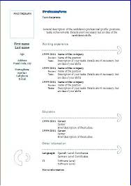 resume template exles resume format doc lidazayiflama info