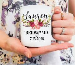 Personalized Mugs For Wedding Best 25 Bridesmaid Mug Ideas On Pinterest Wedding Bridesmaids