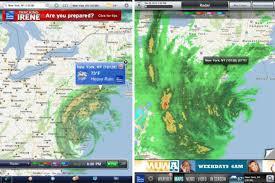 New York Weather Map hurricane irene