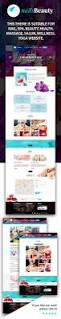 nailsbeauty nail spa and beauty html template by sumerianlab