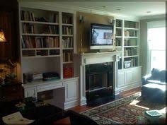 Bookshelves And Desk Built In by Fireplace Built Ins With Desk Bedroom And Office Pinterest