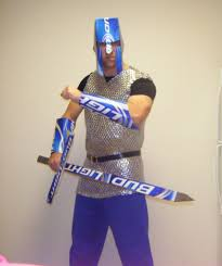 bud light beer box hat becoming the bud light knight