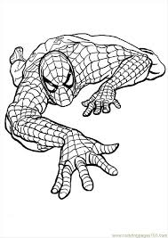 spiderman coloring pages pdf kids coloring