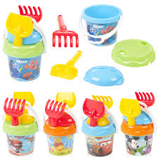 disney sand bucket u0026 spade kids seaside play water beach toys
