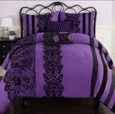 Purple Ruffle Comforter Purple Ruffle Comforter Set Apartment Pinterest Ruffled