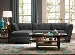 Raymour And Flanigan Living Room by Tate 3 Pc Microfiber Modular Sofa Sectional Sofas Raymour And