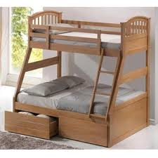 Artisan Oak Three Sleeper Bunk Bed Amazoncouk Kitchen  Home - Three sleeper bunk bed
