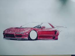 jdm acura nsx nsx honda acura nsx jdm works rims bic draw drawing