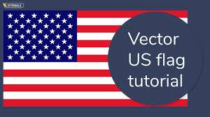 Us Flag Stripes Number How To Create Us Flag In Adobe Illustration American Flag Vector