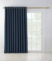 Patio Door Panel Curtains by Williams Grommet Top Slider Patio Door Panel Country Curtains