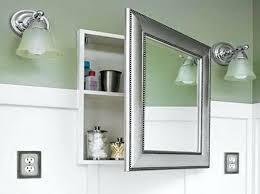 bathroom medicine cabinets recessed lighted bathroom medicine