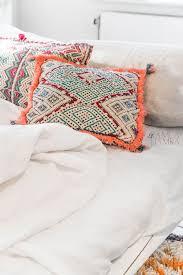 furniture bedroom classy design of creamy tufted headboard in