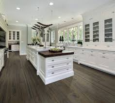 engineered hardwood floors kitchen transitional with hardwood