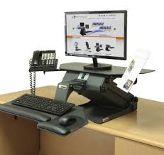 awesome stand and adjustable computer desk designs nowadays