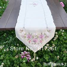 ikea table runners tablecloths ikea fashion table runner ribbon embroidered for wedding stain runne