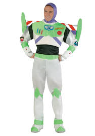 Deluxe Womens Halloween Costumes Deluxe Buzz Lightyear Costume