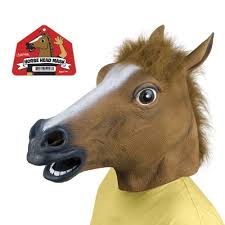 Horse Halloween Costumes Sale Amazon Accoutrements Horse Head Mask Toys U0026 Games