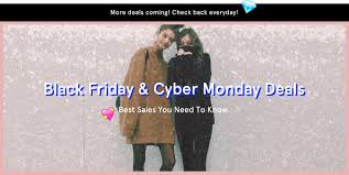 best black friday deals fashion top fashion black friday cyber monday 2015 deals