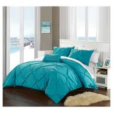 whitley pinch pleated u0026 ruffled duvet cover set chic home design