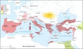 Roman World Map by Great Roman Civil War 49 U201345 Bc Also Known As Caesar U0027s Civil War