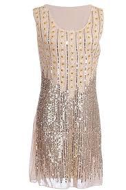 amazon com vijiv women u0027s1920s gatsby style beads and sequin