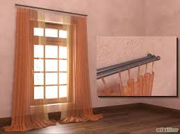 Curtain Rods Installation How To Install Curtain Rods 11 Steps With Pictures Wikihow