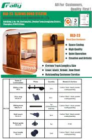 Used Barn Doors For Sale by Century Synchronized Bi Parting Sliding Glass Barn Doors Hardware