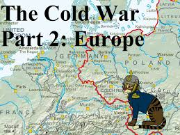 Cold War Map Of Europe by Cold War Part 2 Europe Youtube