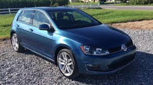 volkswagen hatchback 2015 2015 volkswagen golf tdi sel 6a hatchback huge sunroof fender