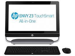 ordinateur de bureau hp tout en un ordinateur de bureau tout en un hp envy touchsmart 23 d260ef