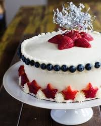 a birthday cake made out of doughnuts martha stewart