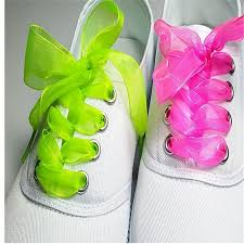 ribbon shoe laces popular shoelaces ribbon lace buy cheap shoelaces ribbon lace lots