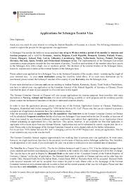 ideas collection sample cover letter for tourist visa application