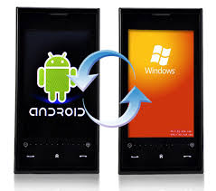 windows for android windroid phone runs windows mobile android technabob