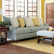 Paula Dean Sofa by Paula Deen By Craftmaster P711700 Traditional Stationary Sofa With