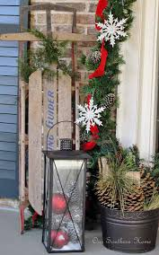 Outdoor Christmas Decorations You Can Make by Diy Outdoor Christmas Decorating The Garden Glove