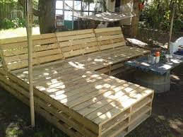Outdoor Furniture Made From Pallets by Pallet Sectional For Outside Sectional Furniture Outdoor
