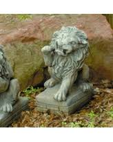 lion garden statue savings on outdoor lion statues