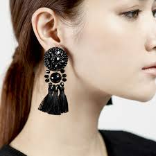 big earrings add big and antique earrings to your look bingefashion
