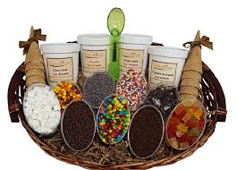 Food Gift Delivery Long Island Ice Cream Gift Baskets U0026 Dessert Delivery Creme Allure