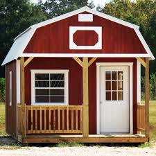 derksen painted lofted barn cabin would be a great guest house