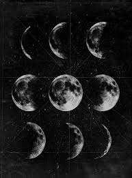 vintage witch wallpaper lunar phases a r t pinterest lunar phase wallpaper and moon