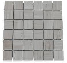 Marble Mosaic Tile Wooden Beige 2x2 Honed Marble Tile Tilebar Com