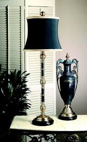 Unique Buffet Lamps by Lamps And Lighting Antique Brass Black Buffet Lamp Ornate French