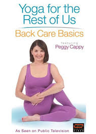 Armchair Exercises For The Elderly Dvd Yoga For The Rest Of Us Dvd Peggy Cappy