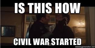Civil War Meme - captain america civil war meme by quicksonic506 on deviantart