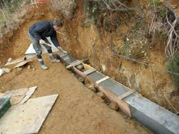 making a block retaining wall part 1 ady s garden