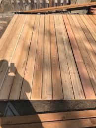 part 2 installing tub cedar deck boards ricky says