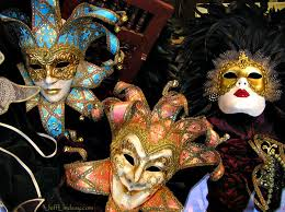 mardi gras masks for sale masquerade masks on sale in the city of barcelona spain
